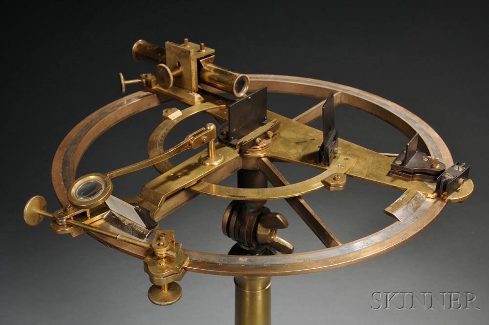 H. Gambey Brass Reflecting Circle