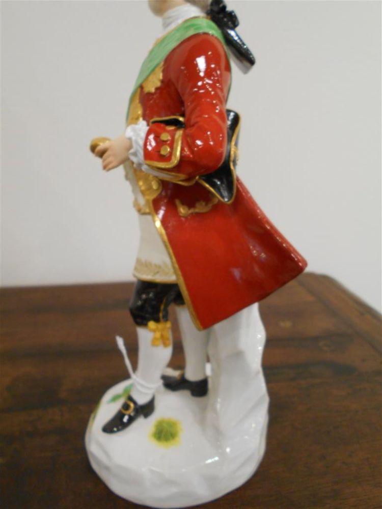 Meissen Porcelain Figure of a Gentleman