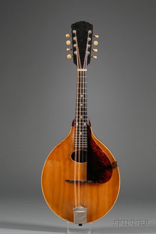 American Mandolin, Gibson Mandolin-Guitar Company, Kalamazoo, c. 1912, Style A