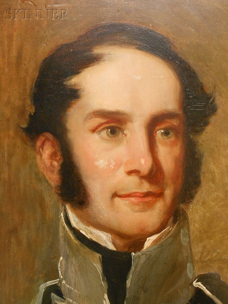 Thomas Sully (American, 1783-1872)      Portrait of General George Cadwalader (1806-1879)
