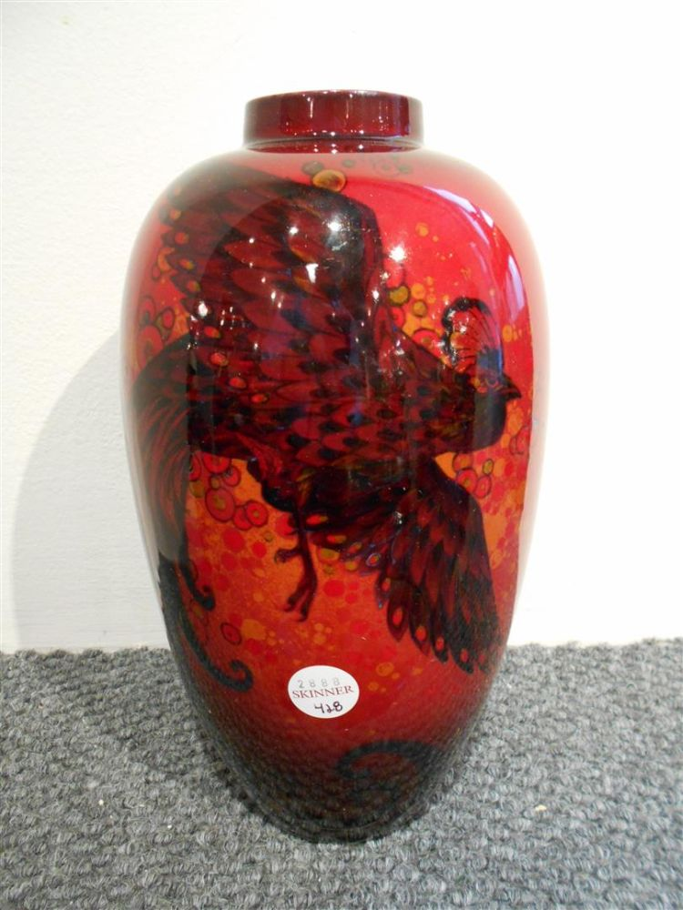 Royal Doulton Flambe Sung Ware Vase