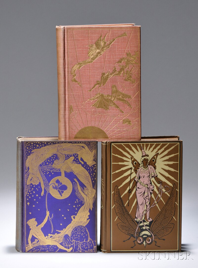 Lang, Andrew (1844-1912) Eight Color Fairy Books, c. 1890.