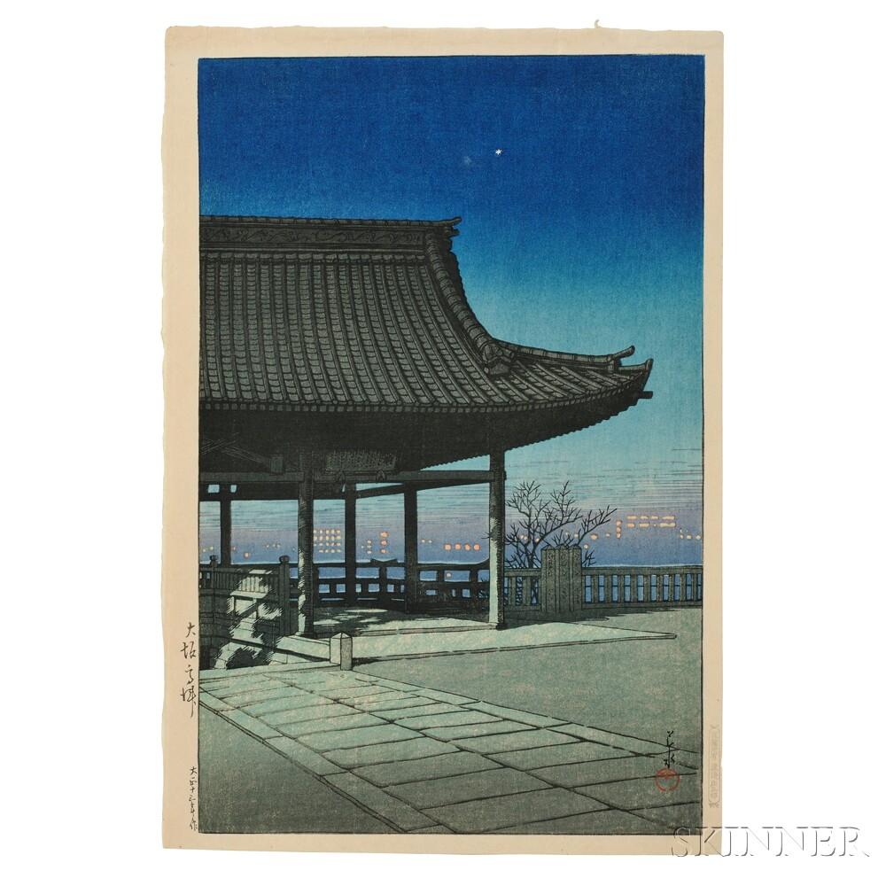 Kawase Hasui (1883-1957), Kozu, Osaka