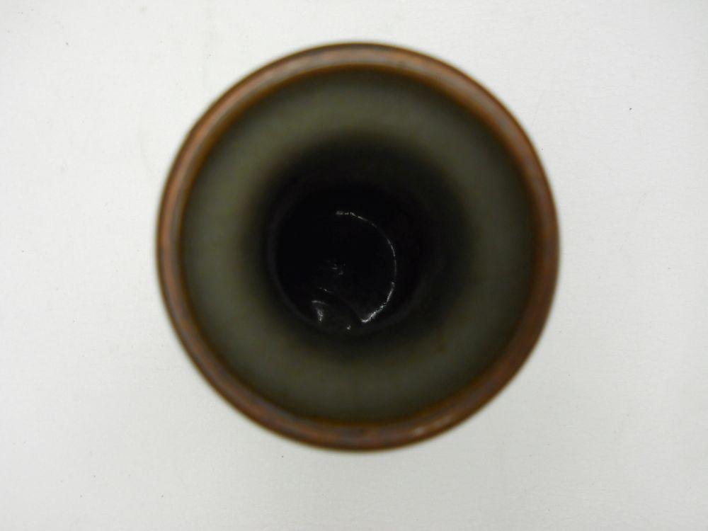Celadon White Slip-decorated Vase