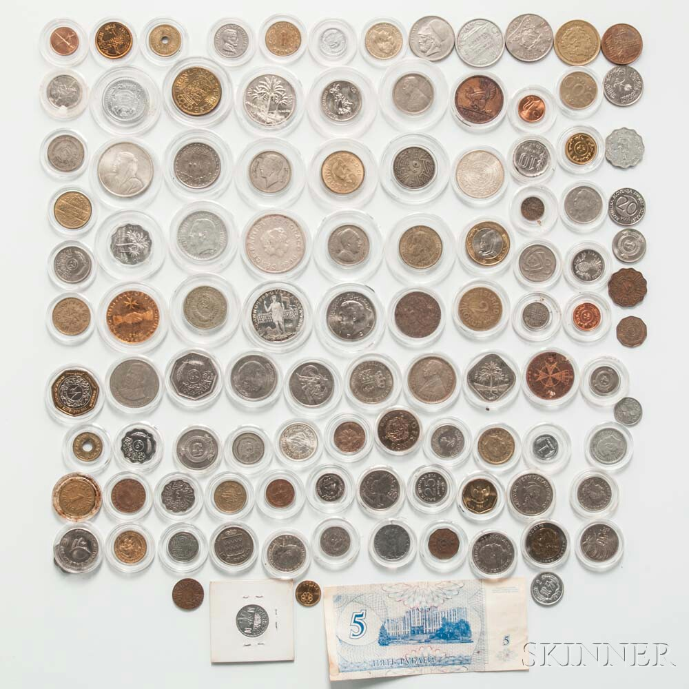 Group of Modern World Coins