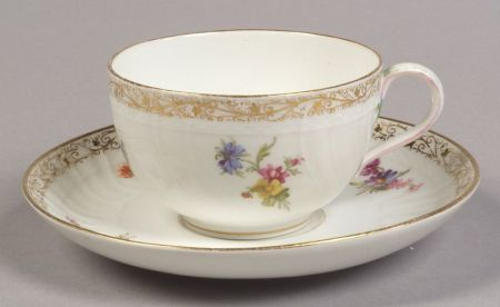Berlin Porcelain Cups and Saucers