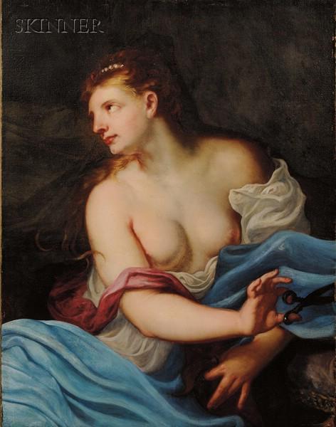 Manner of Peter Paul Rubens (Flemish, 1577-1640)      Delilah