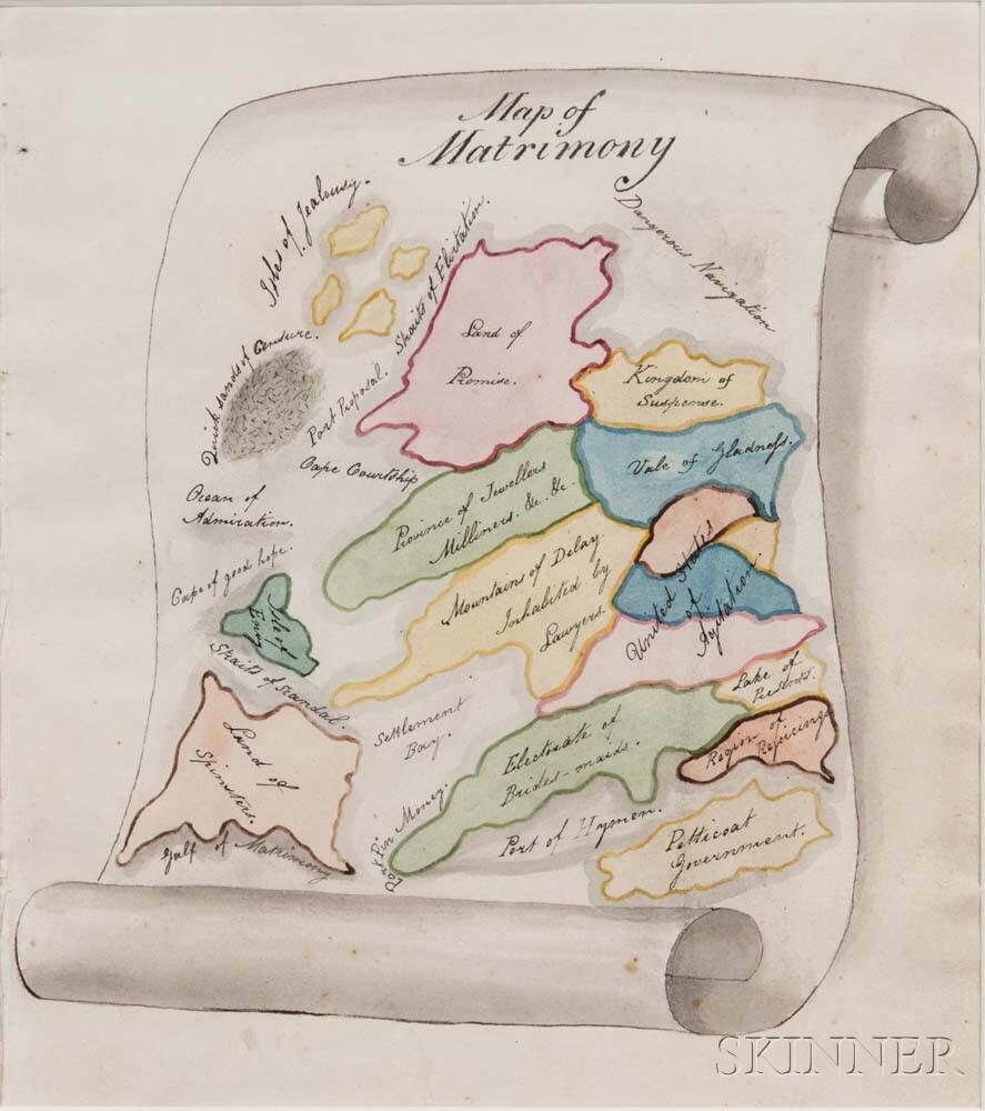 Map of Matrimony.