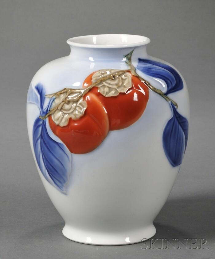 Japanese Porcelain Modernist Vase
