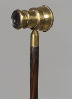 English Spyglass Walking Stick