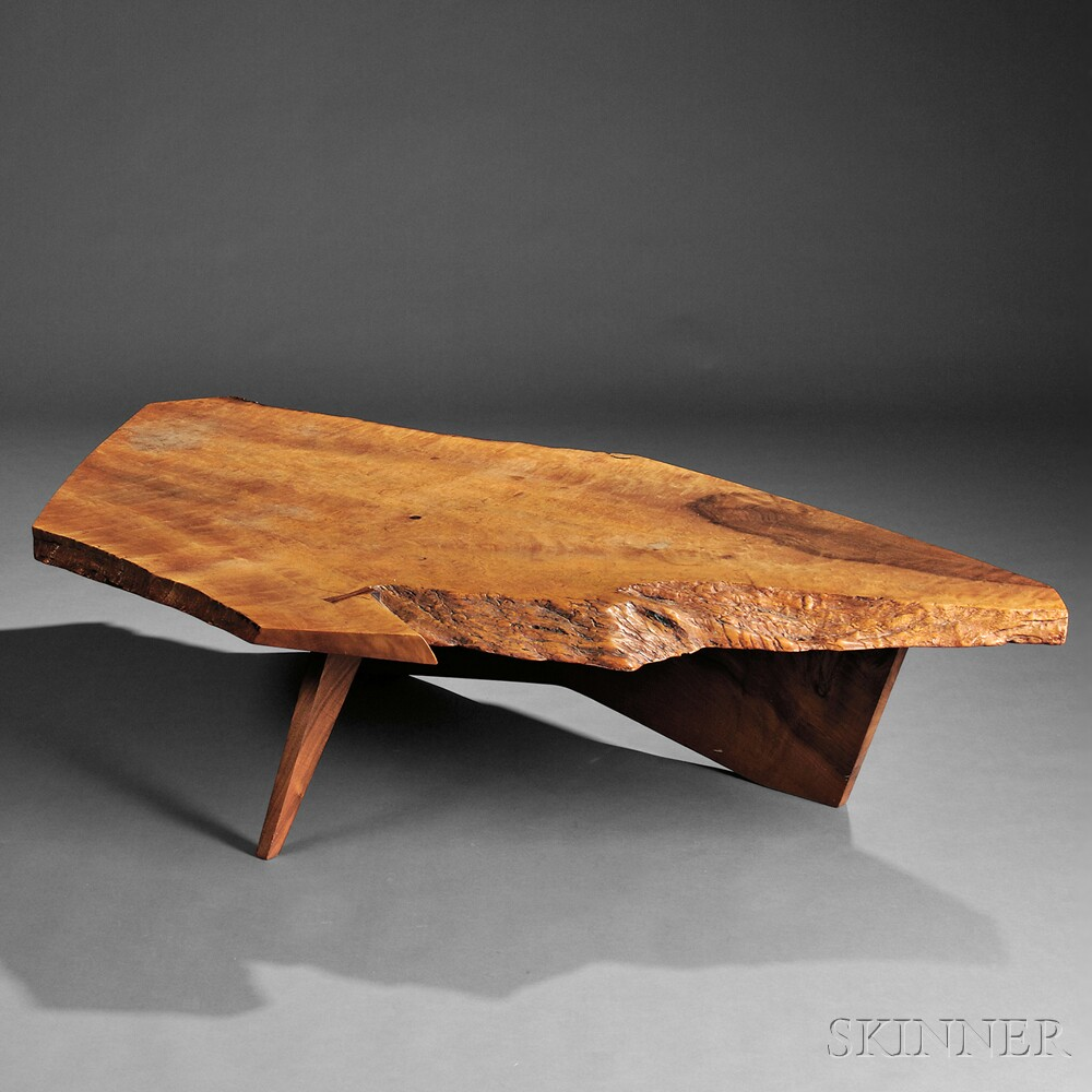 George Nakashima 1905 1990 Coffee Table Sale Number 2770b Lot Number 349 Skinner Auctioneers