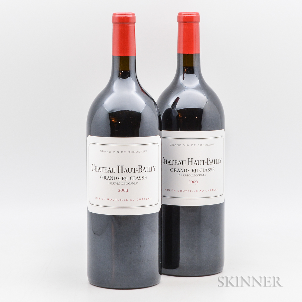 Chateau Haut Bailly 2009, 2 magnums