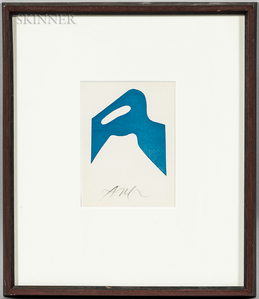 Jean (Hans) Arp (French/German, 1886-1966)      Plate   from the Suite Gaston Puel