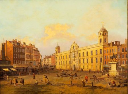 After Giovanni Antonio Canale, called Il Caneletto (Italian, 1697-1768)    London, Northumberland House