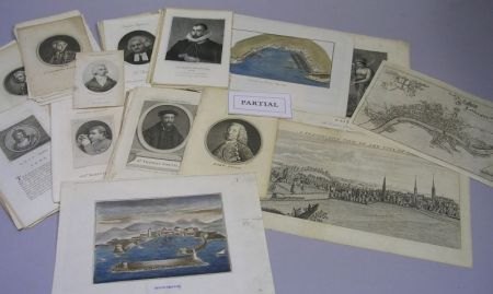 Large Group of Assorted 18th and 19th Century Steel Engravings and Prints
