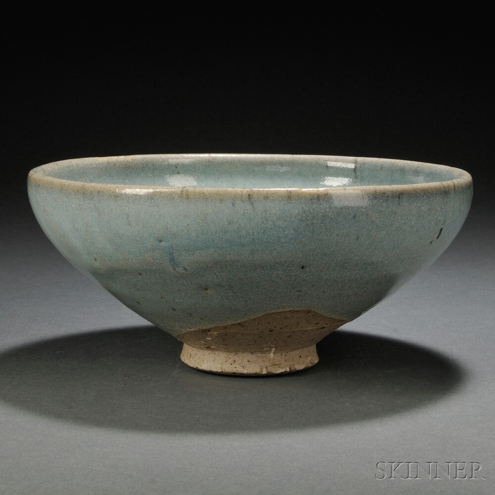 Contemporary Jun-ware-style Bowl