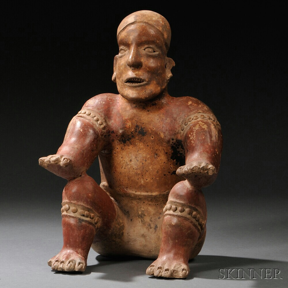 Jalisco Seated Pottery Figure
