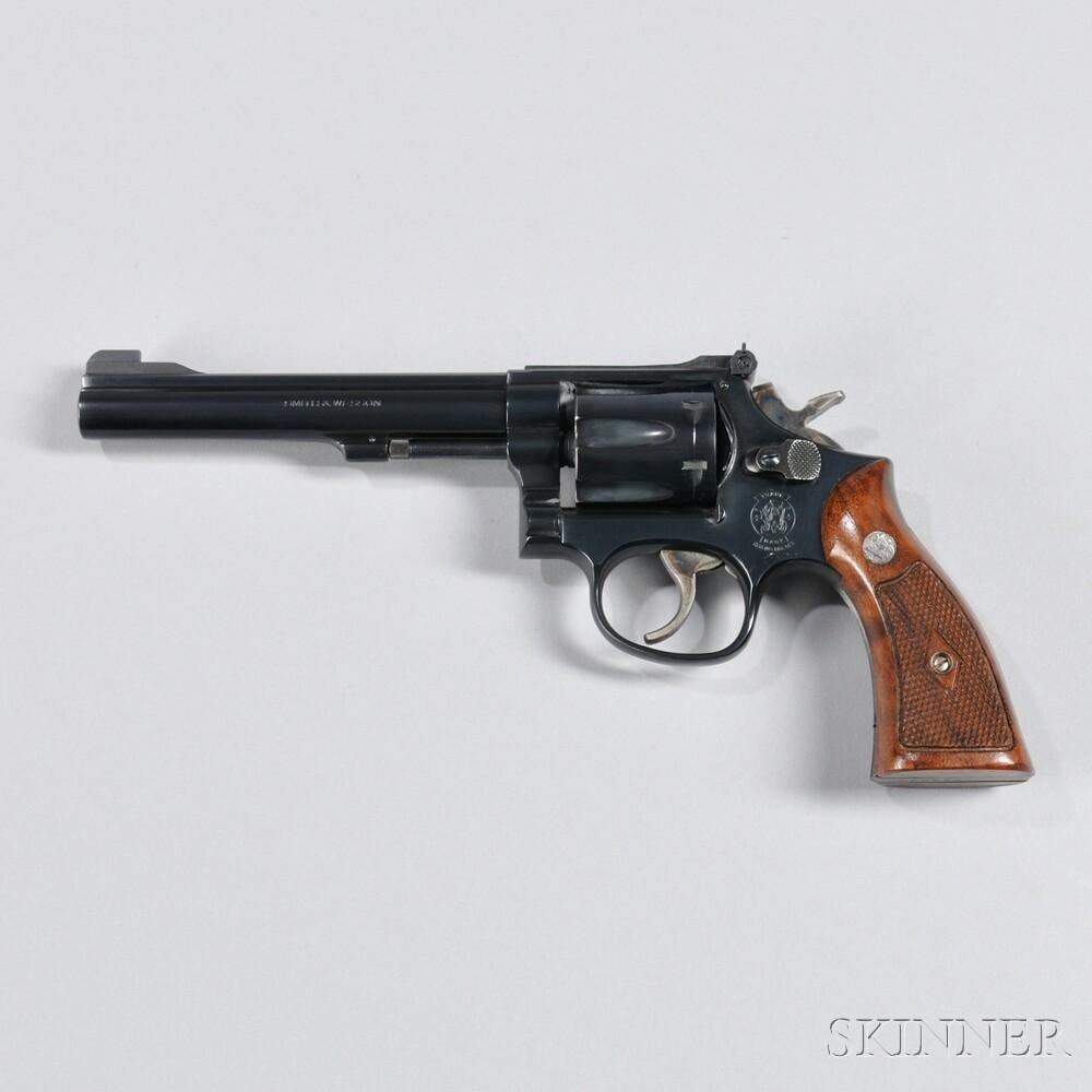 Smith & Wesson Model 17-6 Revolver