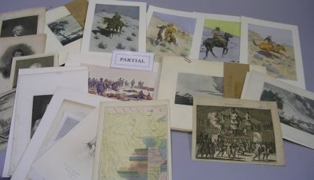 Group of Assorted 19th and Early 20th Century Prints