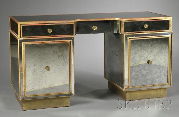 Hollywood-style Art Deco Desk