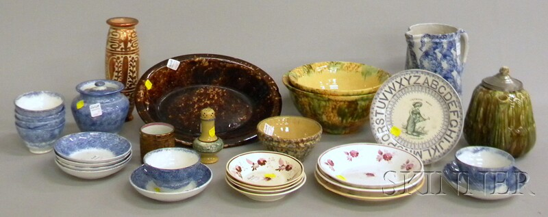 Group of Mostly Country and English Ceramic Tableware