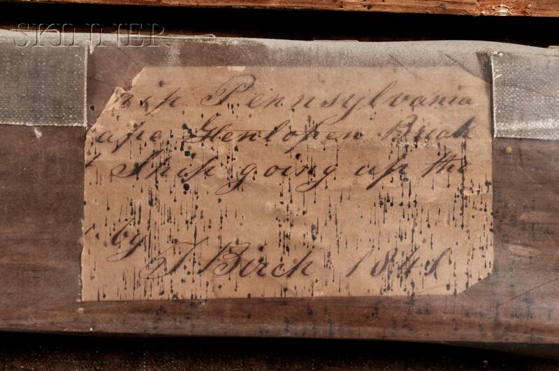 Thomas Birch (American, 1779-1851)    U.S.S. Pennsylvania