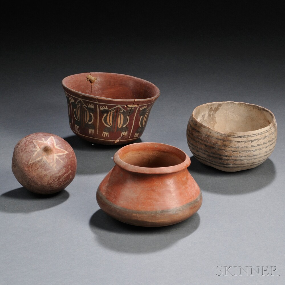 Four Nasca Vessels