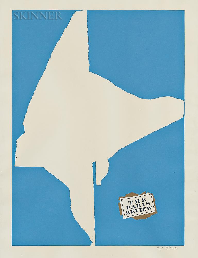 Robert Motherwell (American, 1915-1991)      The Paris Review