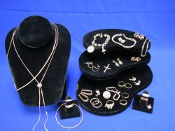 Assortment of Gold Jewelry and Findings.