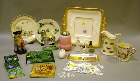 Nineteen Assorted Ceramic and Glass Items