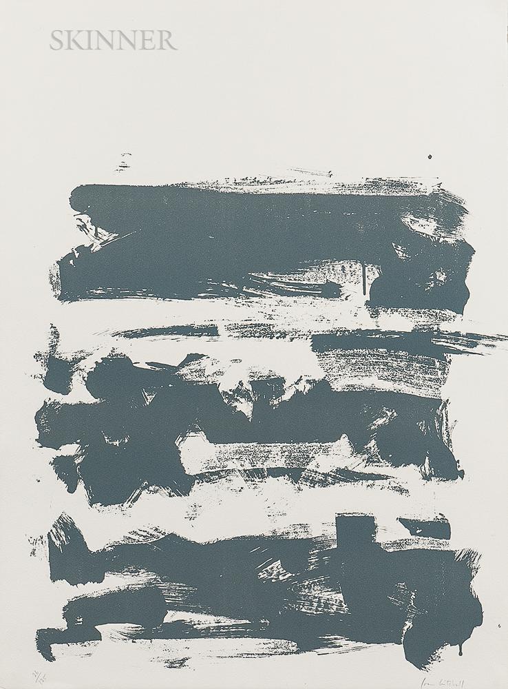 Joan Mitchell (American, 1925-1992) Fields II