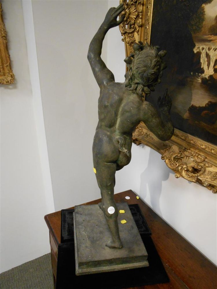 Grand Tour Bronze Model of a Satyr
