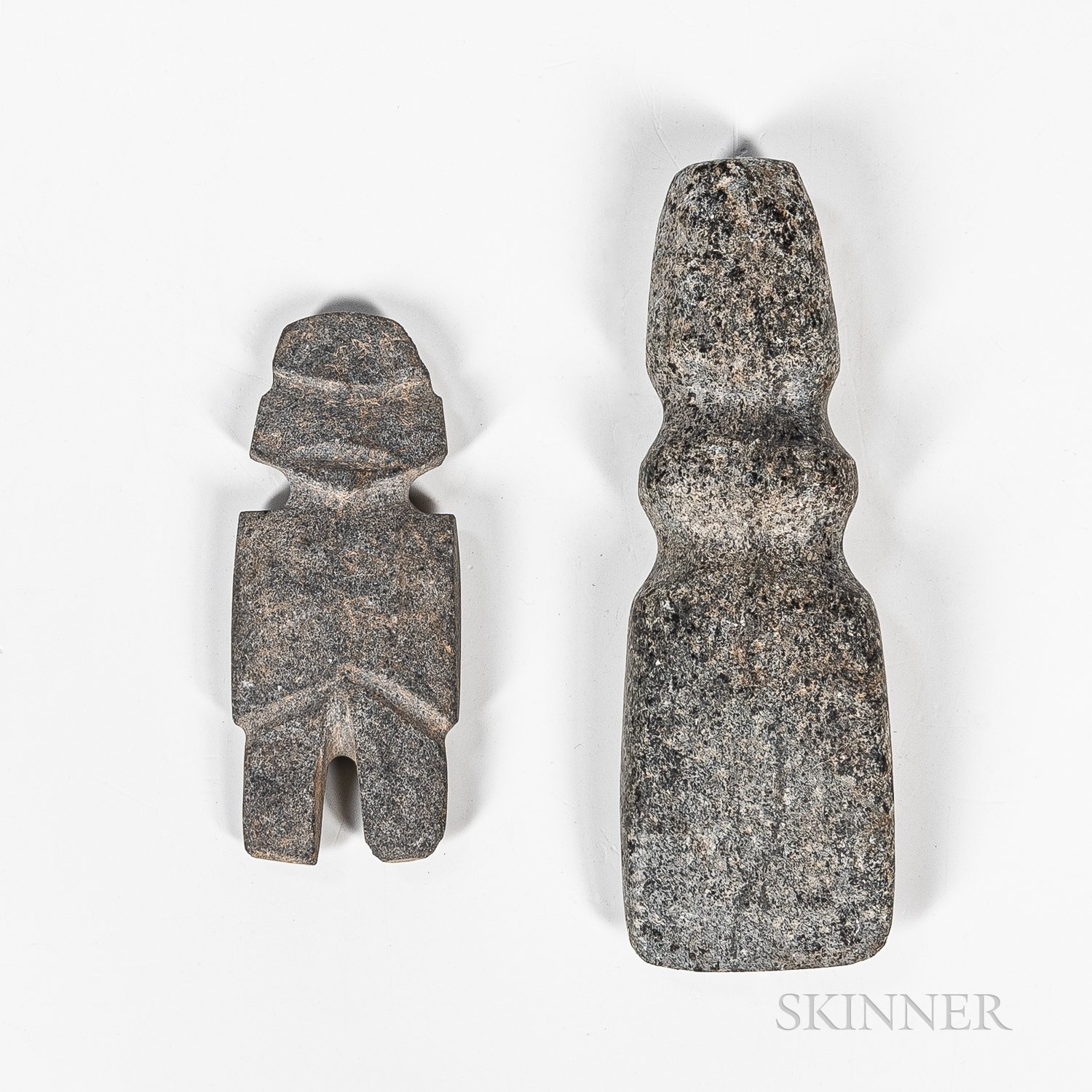 Two Pre-Columbian Stone Items
