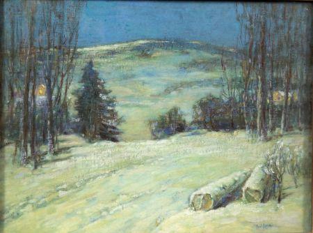 Paul King (American, 1867-1947)    Winter Hills