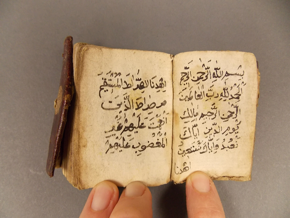 Exotic Book Lot, Five Far and Middle East Manuscripts, Texts, and Scroll.