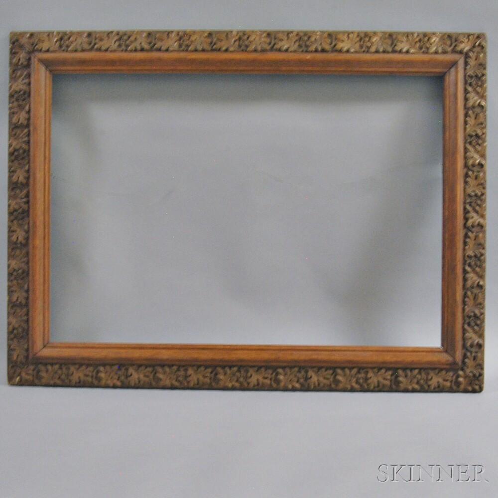 Aesthetic Acorn-carved Frame