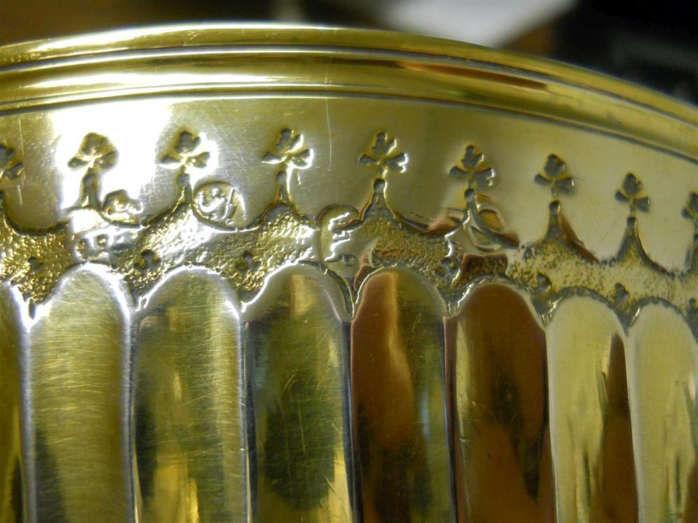 Queen Anne Britannia Standard Silver-gilt Bowl