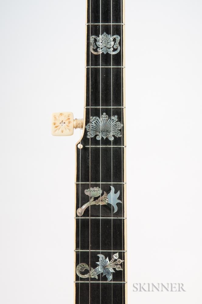 A.C. Fairbanks Special Electric No. 5 Five-string Banjo, c. 1898