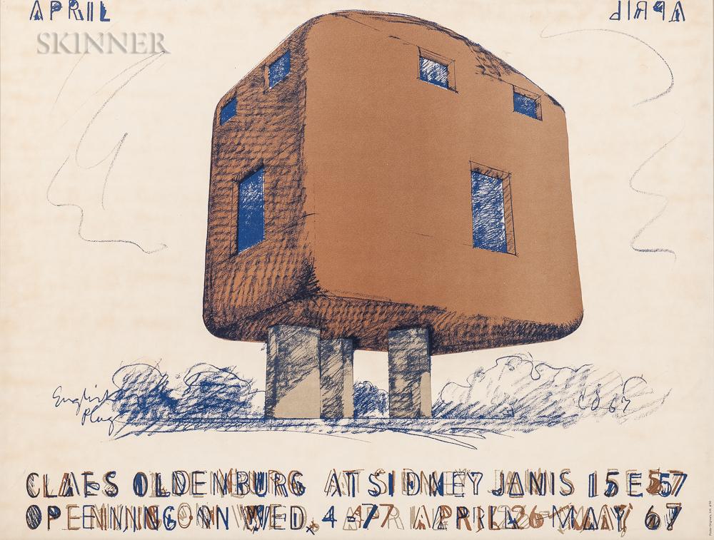 After Claes Oldenburg (American, b. 1929)      Claes Oldenburg at Sidney Janis