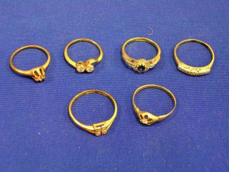 Six Gold Rings