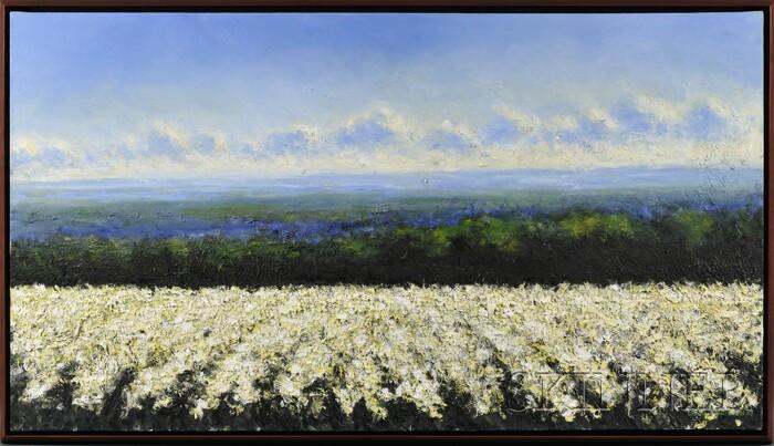 John Stockwell (American, b. 1958)      Poppy Fields   [White]