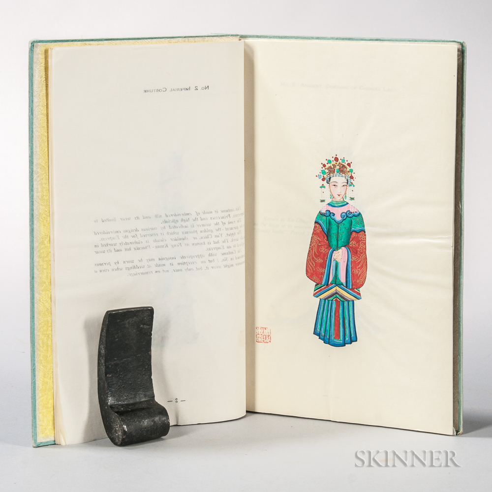 Jowett, Hardy (d. 1936) Chinese Costumes, Illustrations Hand Painted.