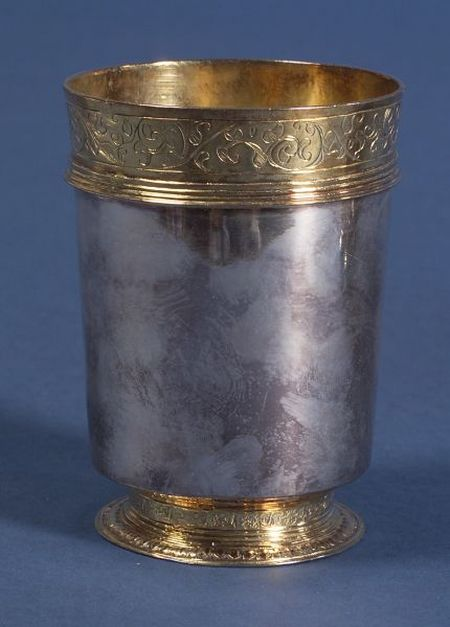 Charles I Silver and Gold-washed Beaker