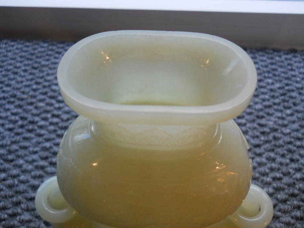 Stone Gu   Vase