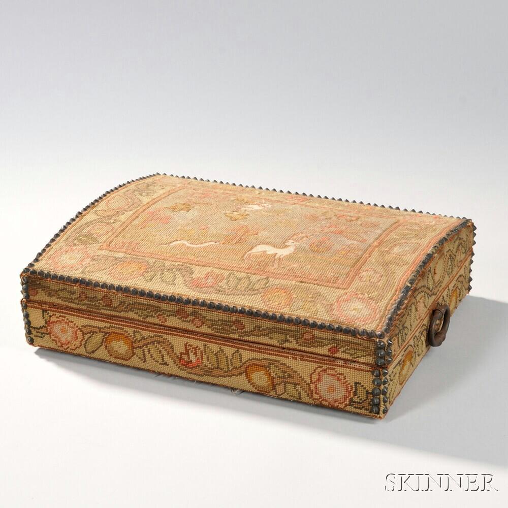 Needlework Dome-top Box
