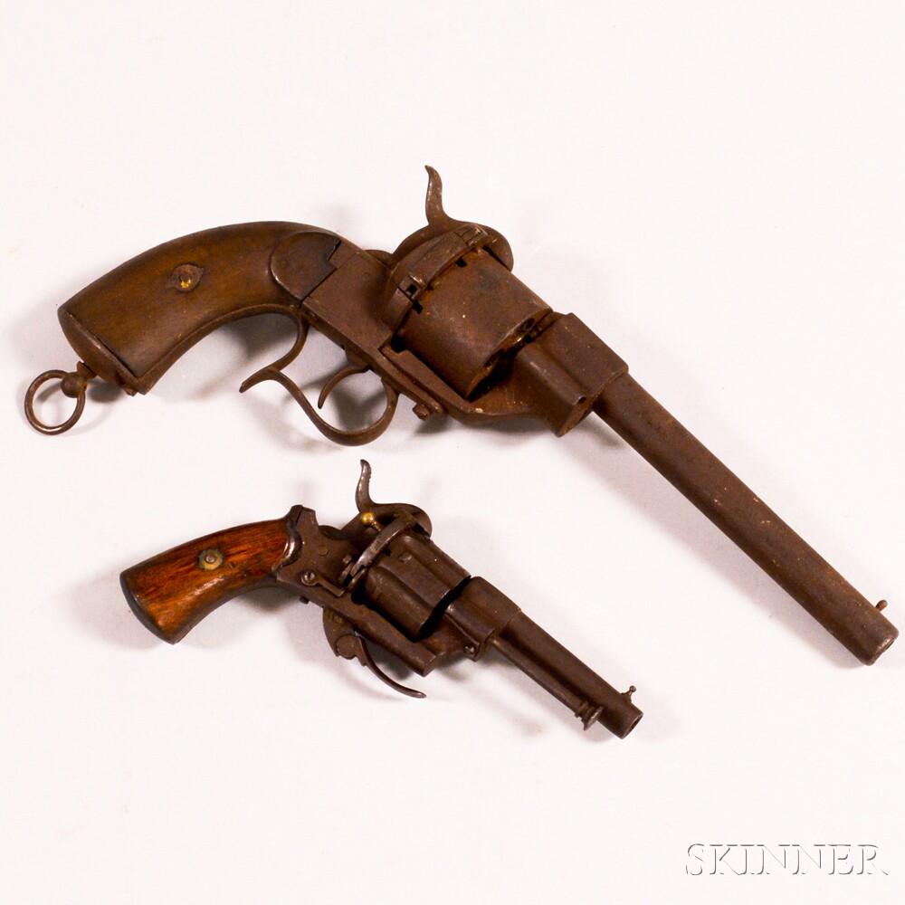 Two Pinfire Pistols.     Estimate $200-300