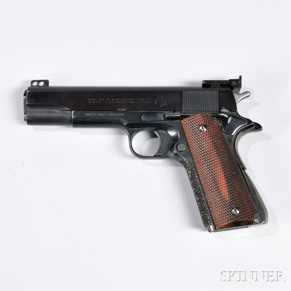 Colt Model 1911 Automatic Pistol with Target Alterations