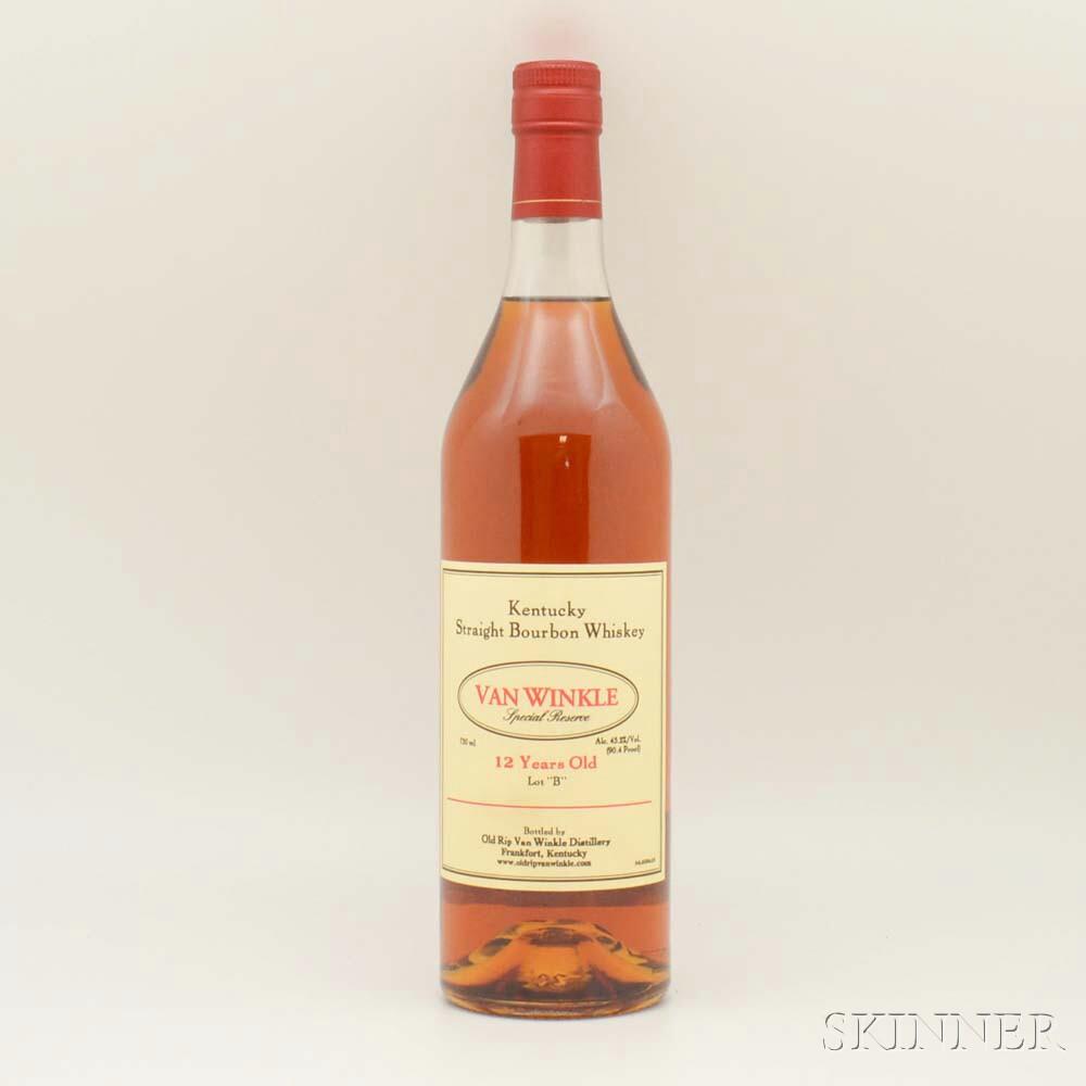 Van Winkle Special Reserve 12 Years Old Lot B, 1 750ml bottle