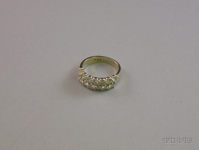 14kt Gold and Diamond Band