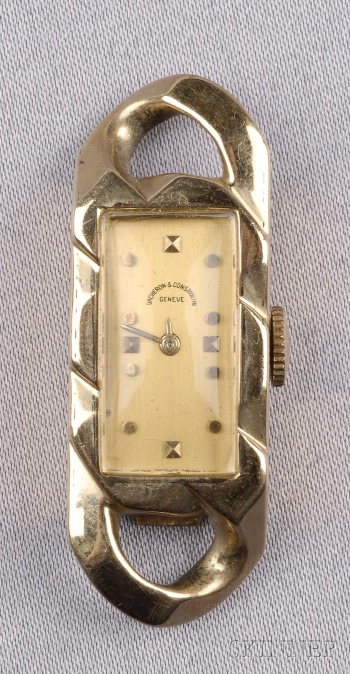14kt Gold Wristwatch, Vacheron & Constantin